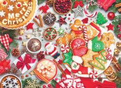 Christmas Table Sweets Jigsaw Puzzle
