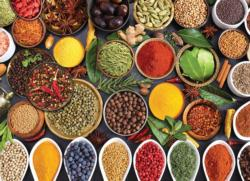 Spicy Table Food and Drink Jigsaw Puzzle