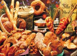 Bread Table Food and Drink Jigsaw Puzzle
