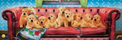 Lounging Labs Dogs Panoramic Puzzle