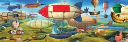 The Great Race Balloons Panoramic Puzzle