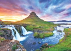 Iceland Waterfalls Jigsaw Puzzle