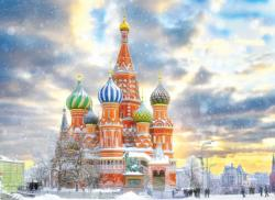 Moscow, Russia Monuments / Landmarks Jigsaw Puzzle