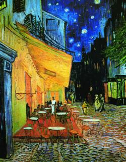 Café at Night (Mini) Post Impressionism Miniature