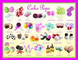 Cake Pops (Small Box) Pattern / Assortment Jigsaw Puzzle