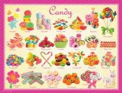 Candy (Small Box) Pattern / Assortment Jigsaw Puzzle