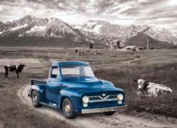 1954 Ford F-100 - Heritage Ranch Photography Jigsaw Puzzle