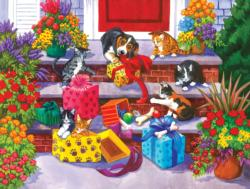 Time for Toys and Treats Dogs Jigsaw Puzzle