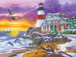Victorian Light Winter Jigsaw Puzzle