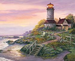 Smooth Sailing Seascape / Coastal Living Jigsaw Puzzle