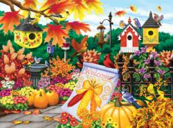 Welcome Autumn Fall Large Piece