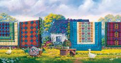Country Comforts Quilting & Crafts Jigsaw Puzzle