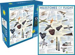 Milestones of Flight (Smithsonian) History Jigsaw Puzzle