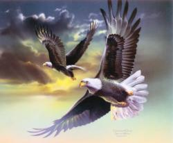 Grace and Glory Eagles Jigsaw Puzzle