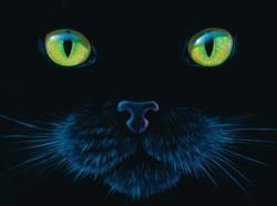 Black Cat Cats Jigsaw Puzzle