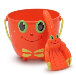 Clicker Crab Pail and Shovel Toy