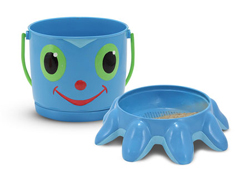 Flex Octopus Pail and Sifter Toy