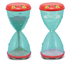 Clicker Crab Hourglass Sifter & Funnel Toy