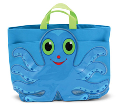 Flex Octopus Beach Tote Bag Toy