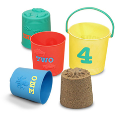Seaside Sidekicks Nesting Pails Toy