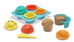 Seaside Sidekicks Sand Cupcake Set Toy