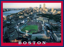 Boston - Fenway Park Baseball Jigsaw Puzzle