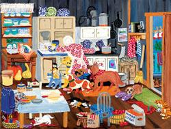 Grandma's Kitchen Domestic Scene Jigsaw Puzzle