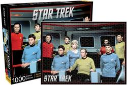 Star - Trek Cast Nostalgic / Retro Jigsaw Puzzle