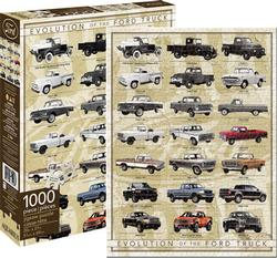Ford - Truck Evolution Nostalgic / Retro Jigsaw Puzzle