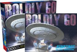 Star Trek Next Gen Enterprise Space Jigsaw Puzzle