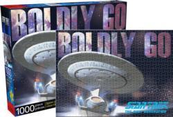 Star Trek Next Gen Enterprise Sci-fi Jigsaw Puzzle