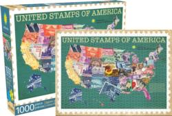 Smithsonian (Smithsonian) - United Stamps United States Jigsaw Puzzle