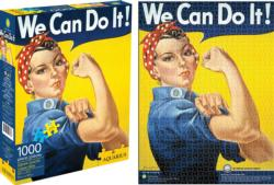 Rosie the Riveter (Smithsonian) Famous People Jigsaw Puzzle