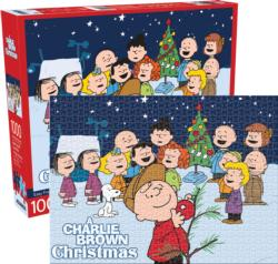 Peanuts Charlie Brown Christmas Christmas Jigsaw Puzzle