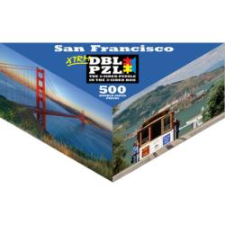 San Francisco California Triangular Puzzle Box