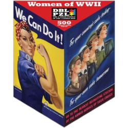 Women of WWII - Scratch and Dent Military / Warfare Triangular Puzzle Box