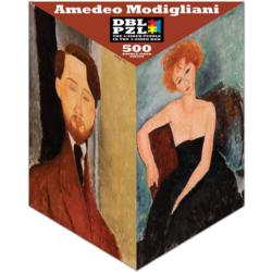 Amedeo Modigliani People Triangular Puzzle Box