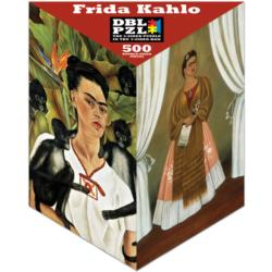 Frida Kahlo People Double Sided Puzzle