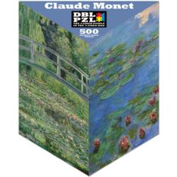 Claude Monet Lakes / Rivers / Streams Triangular Puzzle Box