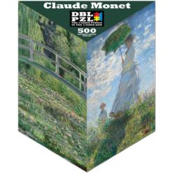 Claude Monet - Scratch and Dent Lakes / Rivers / Streams Triangular Puzzle Box