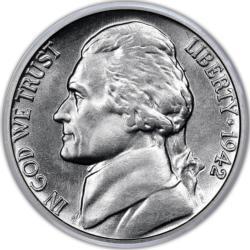 Jefferson Nickel MiniPix® Puzzle Currency Miniature Puzzle