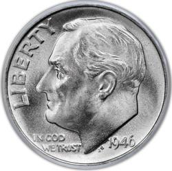 FDR Dime MiniPix® Puzzle Currency Miniature Puzzle