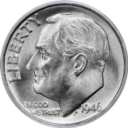 FDR Dime Everyday Objects Miniature Puzzle