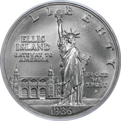 Statue Of Liberty Centennial Coin (Mini) United States Round Jigsaw Puzzle