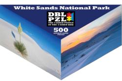 White Sands National Park National Parks Triangular Puzzle Box
