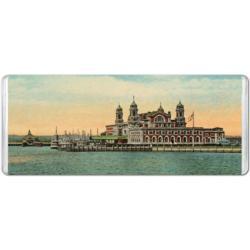 Vintage Ellis Island New York Jigsaw Puzzle