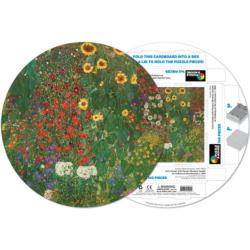 Gustav Klimt Flowers Jigsaw Puzzle
