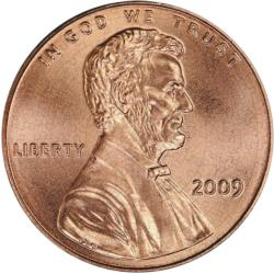 Lincoln Penny Puzzle A-Round Currency Round Jigsaw Puzzle