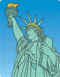 Statue of Liberty Statue of Liberty Tray Puzzle