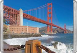 Golden Gate Bridge MiniPix® Puzzle Bridges Miniature Puzzle
